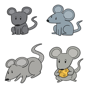 Set of mouse