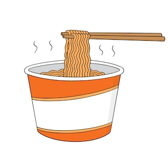 Set of noodles