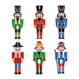 Set of nutcrackers.
