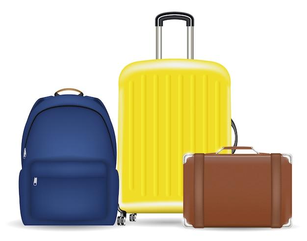 가방 수하물 가방 및 배낭 세트