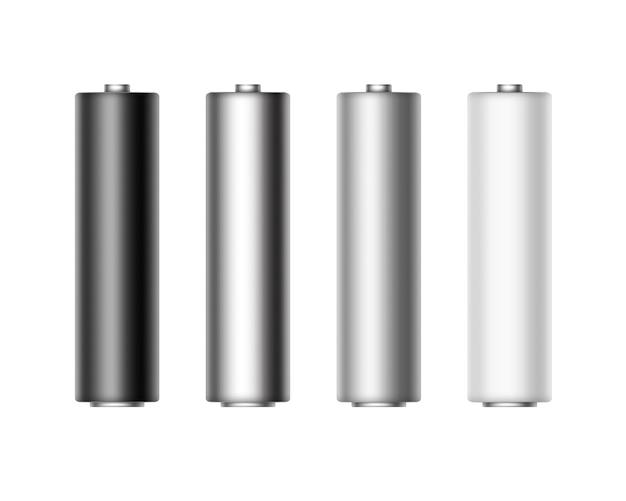分離ブランドのアルカリ単三電池のセット