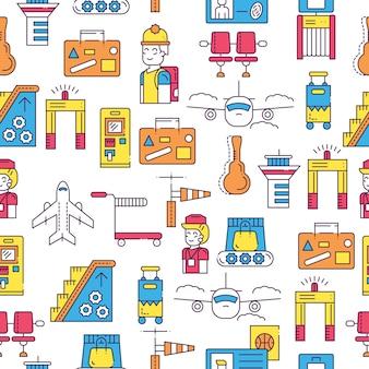 Набор архитектуры, моды, людей, предметов, концепции природы. инфографический дизайн шаблона на бесшовные.