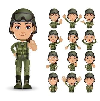 다른 감정을 가진 군대의 집합