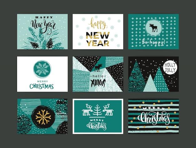 Набор художественных творческих с рождеством и новым годом