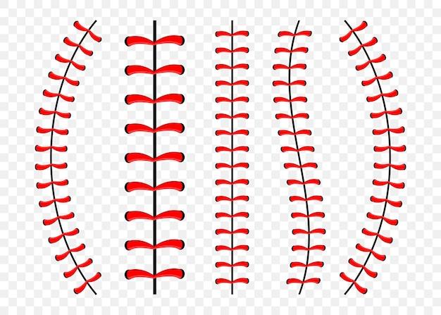 野球のステッチのセット