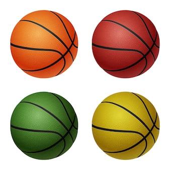 バスケットボールのボールのセット
