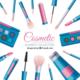 Set of beauty accessories