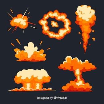 爆弾爆発効果のセット