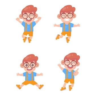少年ジャンプと笑顔のセット