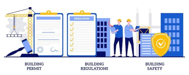 건축 허가, 규정 및 안전, 건설 사업의 집합