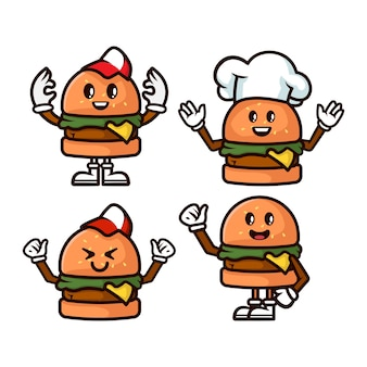 Набор талисмана бургера