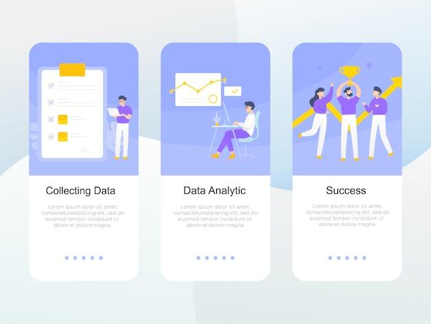탑승 화면에서 비즈니스 응용 프로그램의 설정