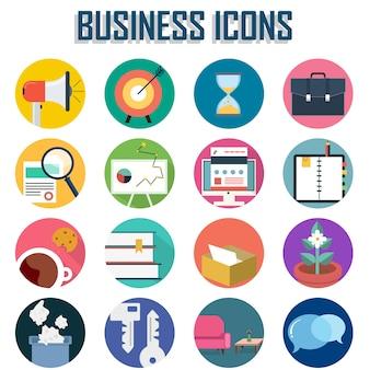 Набор деловых иконок