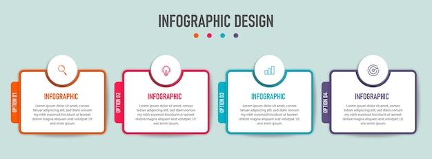 Набор бизнес-инфографики, изолированные на синем