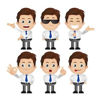 Набор символов бизнесмена
