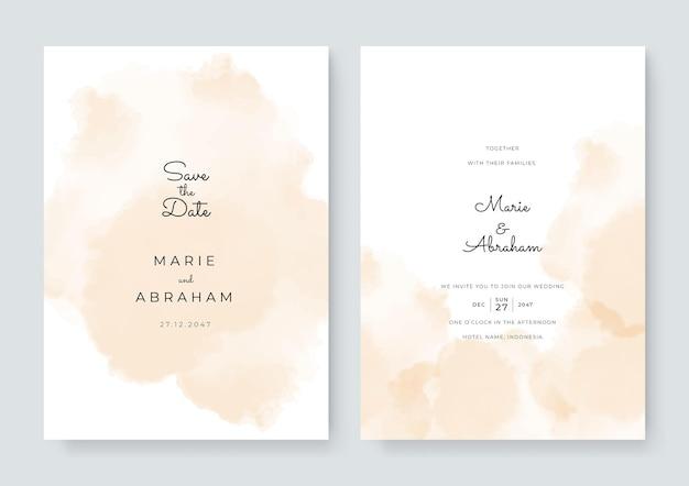 Набор карт с цветком, оставляет акварель. концепция свадебного украшения. цветочный плакат, пригласить. векторная декоративная открытка или приглашение дизайн фона. кисть акварель с цветочным декором