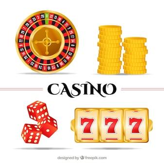 カジノのゲーム要素のセット