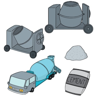 Set of cement