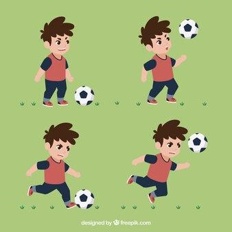 Набор для детского футболиста