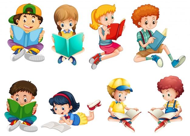 어린이 캐릭터 세트