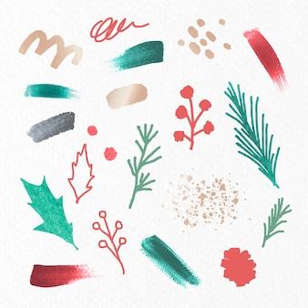 クリスマスの飾りのセット
