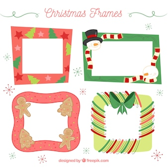 クリスマスの装飾のセット