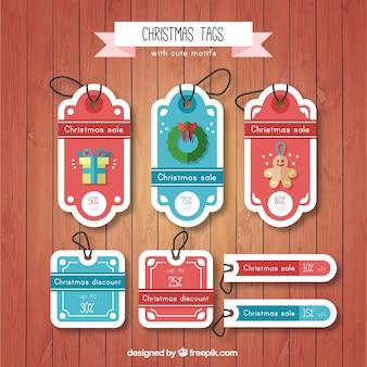特別オファーとのクリスマスタグのセット