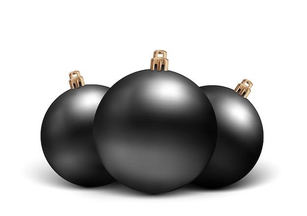 リアルなスタイルのクリスマスのおもちゃのセット
