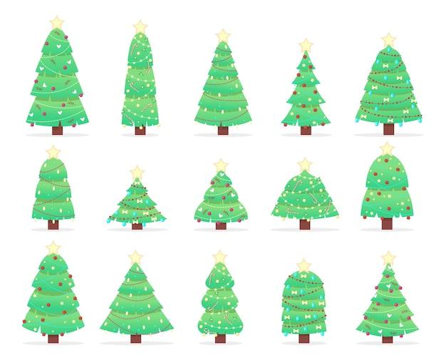 クリスマスツリーのセット