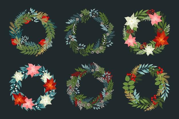 Набор рождественских венков