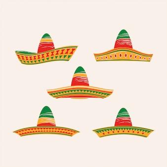 Комплект шапки синко де майо