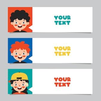 Набор красочных бумаг для заметок