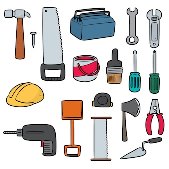 Набор строительных инструментов