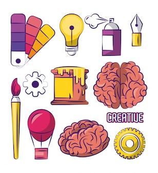 Набор креативного дизайна