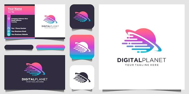 Набор креативных шаблонов дизайна логотипа вензеля