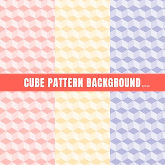 큐브 패턴의 집합