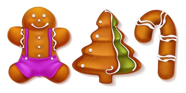 귀여운 진저 쿠키 세트