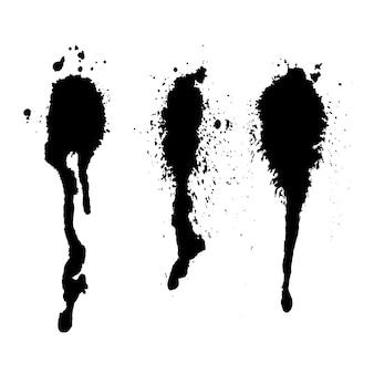 어두운 잉크 밝아진 세트,