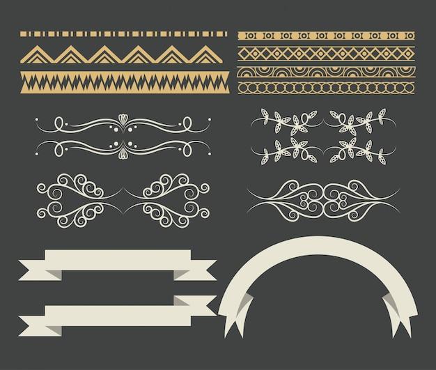 Набор декоративной ленты мультяшный