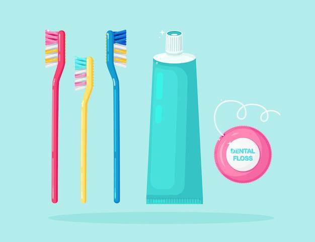 歯のクリーニングのセット