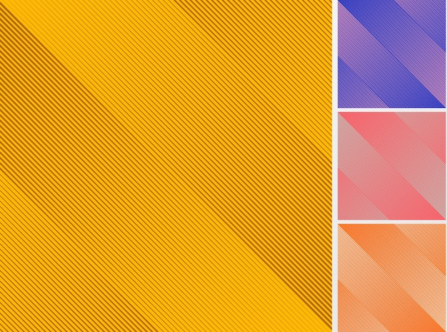 Набор диагональных линий узор фона