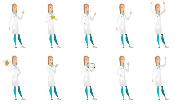 Набор символов доктора.
