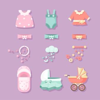 Набор элементов для детского душа
