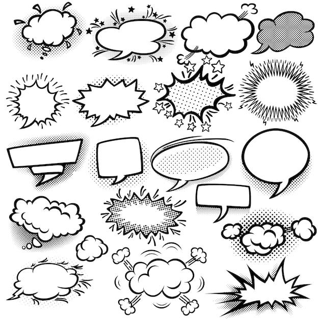 speech bubble vectors photos and psd files free download rh freepik com comic bubble vector free download comic bubble vector pack
