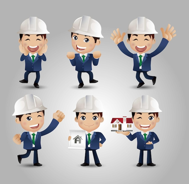 Набор инженер-рабочий