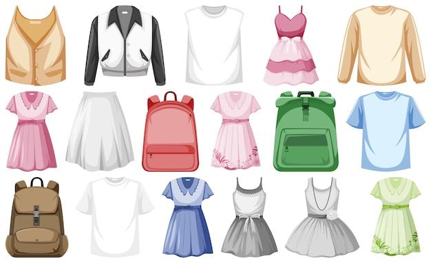 Набор модных нарядов