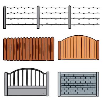 フェンスのセット