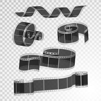 Набор кинопленки, иллюстрации