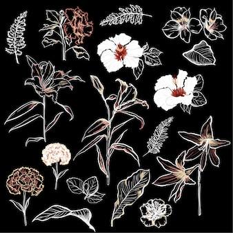 花のセット