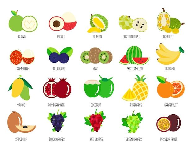 果物のセット